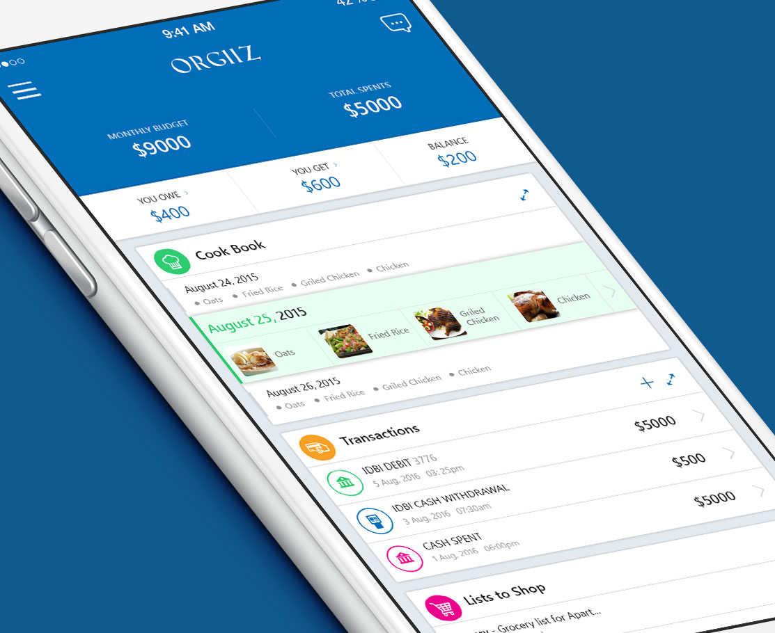 Finance Manager App