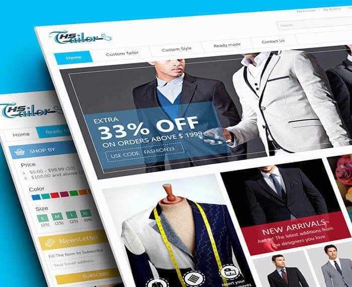 Custom Tailor E-Shop