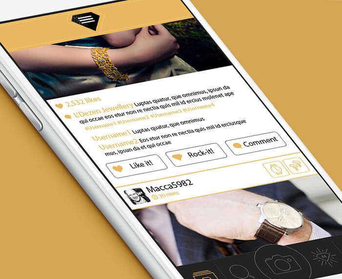Social Jewelry App