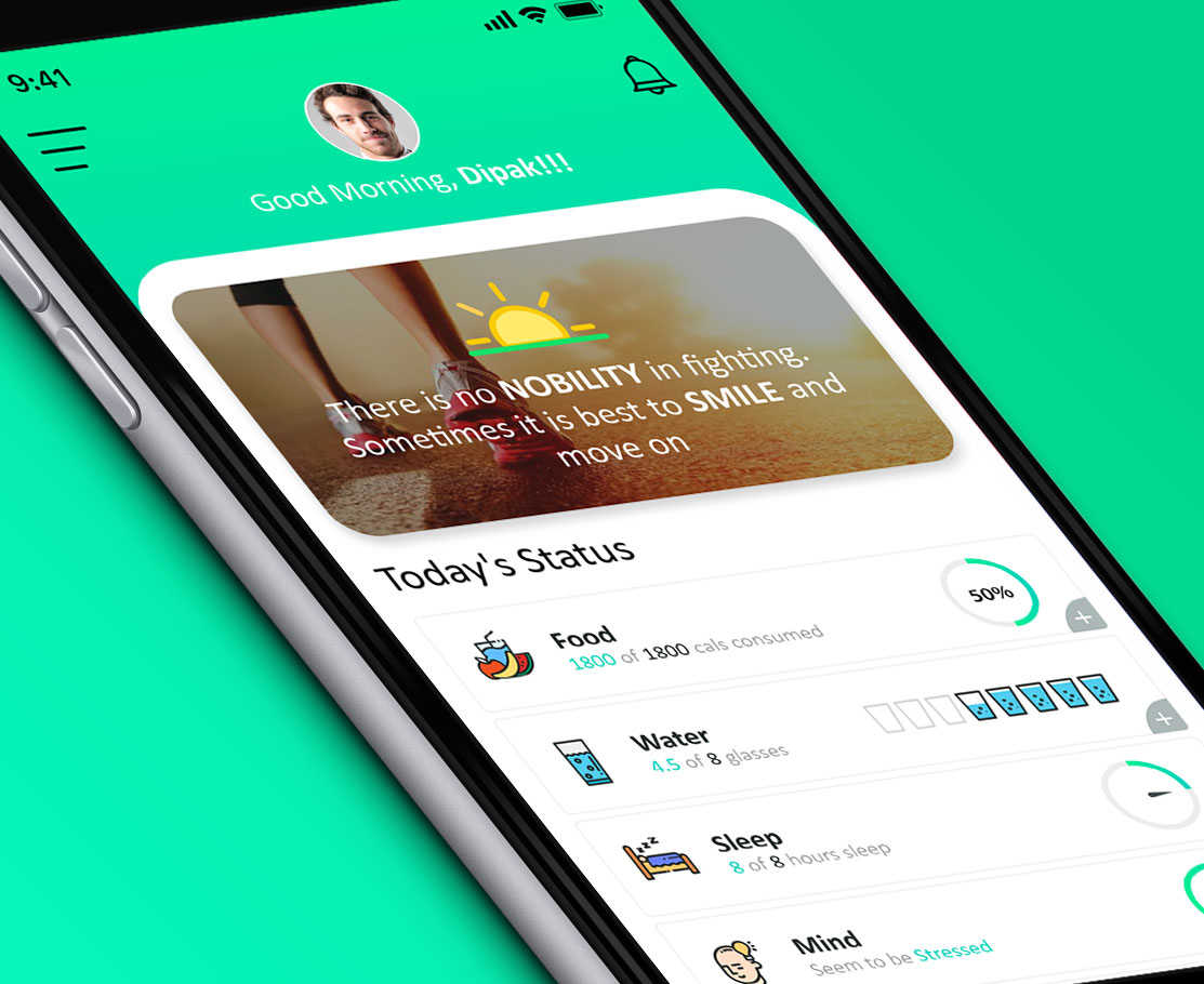 Health Fitness Tracking App